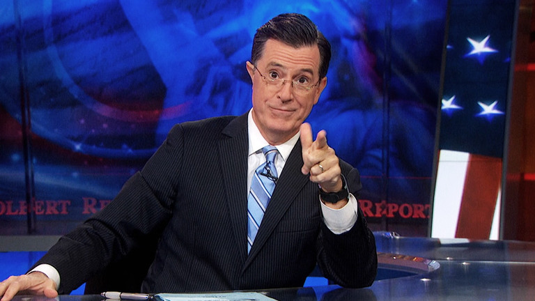 The Colbert Report - COLBERT IN :60