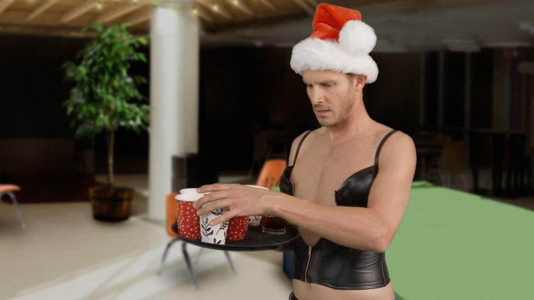 LATEST HIGHLIGHTS: CHRISTMAS STRIPPER - HE KNOWS WHICH LIST SHE'S ON