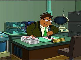 Hermes Conrad, bureaucrat in